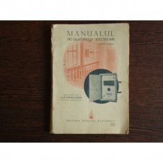 Manualul Instalatorului Electrician, W. Blatzheim