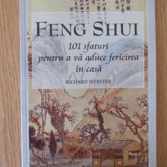 FENG SHUI- 101 SFATURI PENTRU A VA ADUCE FERICIREA IN CASA- R. WEBSTER - Carte dezvoltare personala