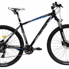 Bicicleta DHS Terrana 2927 (2016) Culoare Negru/Gri/Albastru 495mmPB Cod:21629274963 - Mountain Bike DHS, 19.5 inch