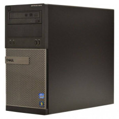 Calculator Dell Optiplex 3010 Tower, Intel Core i5 3470 3.2 GHz, 4 GB DDR3, 250 GB SSD NOU, DVD, Windows 7 Home Premium, Garantie pe Viata - Sisteme desktop fara monitor