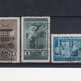 ROMANIA 1934, LP 106, MUNCA NOASTRA ROMANEASCA SERIE STAMPILATA - Timbre Romania