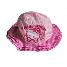 Palarioara de vara Hello Kitty roz - Palarie Copii