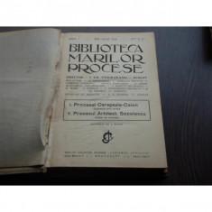 BIBLIOTECA MARILOR PROCESE - I.GR.PERIETEANU