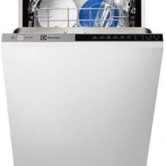 Masina de spalat vase incorporabila Electrolux ESL74300LO, clasa A++, 9 seturi, 5 programe, 45 cm, alb