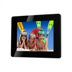 Rama foto digitala 8' Serioux SmartArt 882MLED, rez: 1024 x 768, multimedia, black, USB/SD/MMC/MS, 4