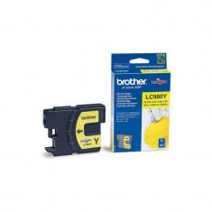 Brother Cartus LC980 Yellow - Cartus imprimanta