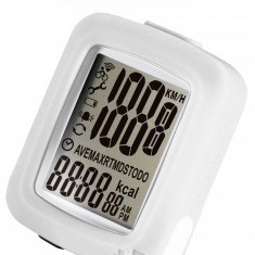 Kilometraj Infini Maia 10 Functii cu Fir AlbPB Cod:588040295RM - Accesoriu Bicicleta