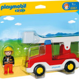 1.2.3 Camion Cu Pompier Playmobil