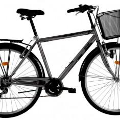 Bicicleta DHS Citadinne 2833 (2016) Culoare Negru 520mmPB Cod:21628335260