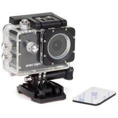 Camera video actiune Kitvision KVESCAPE5W, Full HD 1080p, Ecran 1.5 inch, LCD, Subacvatica, Negru