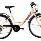 Bicicleta Kreativ 2614 (2016) culoare CremPB Cod:216261440 - Bicicleta de oras