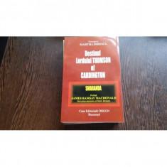 DESTINULLORDULUI THOMSON OF CARDINGTON- MARTA BIBESCU
