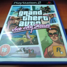 GTA, Grand Theft Auto Vice City Stories, PS2, original, alte sute de jocuri! - Jocuri PS2 Rockstar Games, Actiune, 16+, Single player