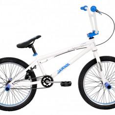 Bicicleta BMX DHS Jumper 2005 (2016) Culoare Alb-AlbastruPB Cod:216200590 - Bicicleta copii