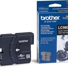 Cerneala Brother LC980BK neagra| 300pgs | DCP145C/ DCP165C/ MFC250C/MFC290C - Cerneala imprimanta