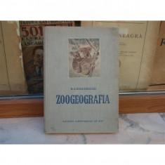 Zoogeografia, N. A. Bobrinschi, 1953 - Carte Zoologie