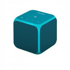 Mini Boxa Wireless Sony SRS-X11, NFC (Albastra) - Boxa portabila