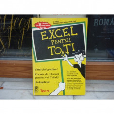 Excel pentru toti, Calin Suciu, 1996 - Curs IT & C