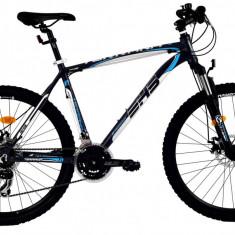 Bicicleta DHS Terrana 2625 (2016) Culoare Gri/Alb/Albastru 495mmPB Cod:21626254979 - Mountain Bike DHS, 19.5 inch