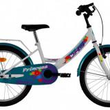 Bicicleta DHS Princess 2002 (2016) Culoare AlbPB Cod:216200290 - Bicicleta copii, 11 inch