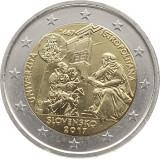 NOU - Slovacia moneda 2 euro 2017 - Universitatea Istropolitana - UNC, Europa