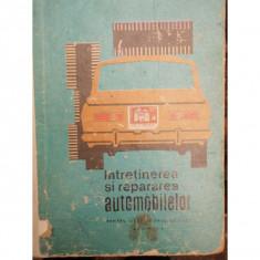 INTRETINEREA SI REPARAREA AUTOMOBILELOR