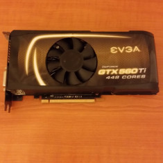 Placa video Nvidia Gtx 560Ti 1280mb/320bit gddr5 - Placa video PC Evga