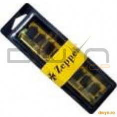 DIMM DDR2/800 1024M PC6400 ZEPPELIN (life time, dual channel) - Memorie RAM