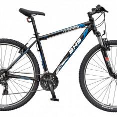Bicicleta DHS Terrana 2923 Culoare Negru/Albastru – 457mmPB Cod:21529234563 - Mountain Bike