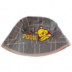 Palarie de vara bebelusi Winnie the Pooh gri