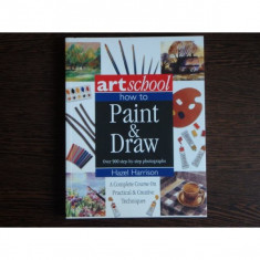 How to paint & draw, Hazel Harrison - Curs hobby