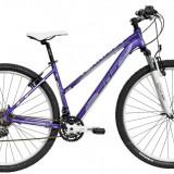 Bicicleta DHS Terrana 2922 (2016) Culoare Violet/Alb 420mmPB Cod:21629224259