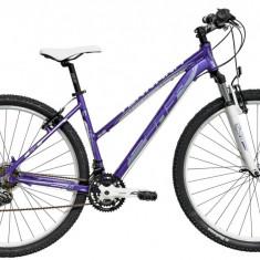 Bicicleta DHS Terrana 2922 (2016) Culoare Violet/Alb 420mmPB Cod:21629224259 - Mountain Bike DHS, 16.5 inch