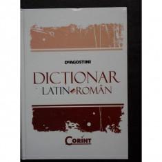 De Agostini Dictionar latin-roman