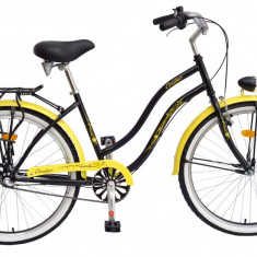 Bicicleta DHS Cruiser 2698 Culoare CremPB Cod:215269840 - Bicicleta de oras DHS, Otel