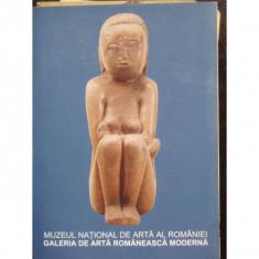 GALERIA DE ARTA ROMANEASCA MODERNA - Carte Istoria artei