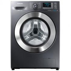 Masina de spalat rufe SAMSUNG WF70F5E5U4X/LE, Clasa energetica A+++, Capacitate 7 kg, 1400 RPM, Incarcare frontala, Crom - Masini de spalat rufe