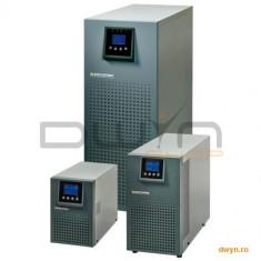 SOCOMEC UPS Online Dubla Conversie 2000VA, Tower, ITYS2, Hard wire input/ output, Baypass, Manag