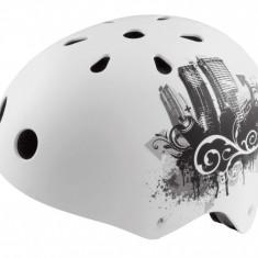 Casca Skate-BMX Alb Marimea L (58-61cm)PB Cod:588400125RM - Echipament Ciclism
