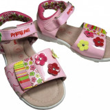 Sandale fete, Primii Pasi, 365594 - Sandale copii Primii Pasi, Marime: 28, 29, 30, 31, 32, 33, 34, 35, Culoare: Rosu, Roz, Piele sintetica