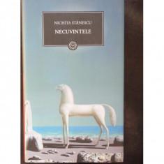 NECUVINTELE - NICHITA STANESCU - Carte poezie