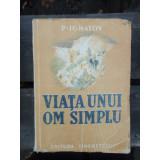 VIATA UNUI OM SINGUR - P. IGNATOV