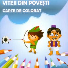 Adina Grigore - Viteji din povesti. Carte de colorat. - 17623 - Carte de povesti