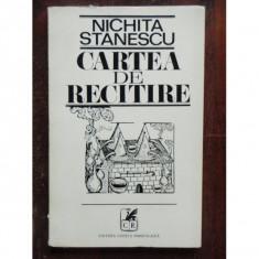 CARTEA DE RECITIRE - NICHITA STANESCU - Carte poezie