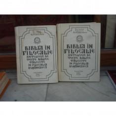 BIBLIA IN FILOCALIE , CALINIC BOTOSANEANUL , VOLUMUL 1 SI 2