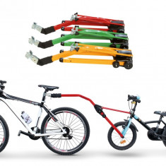Sistem Trail Angel Atasare Bicicleta Copii PeruzzoPB Cod:588310010RM - Remorca bicicleta