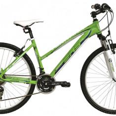 Bicicleta DHS Terrana 2622 (2016) Culoare Verde/Turcoaz 420mmPB Cod:21626224288 - Mountain Bike DHS, 16.5 inch