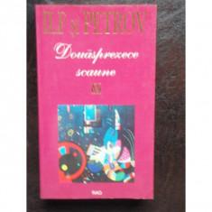 DOUASPREZECE SCAUNE - ILF SI PETROV - Carte de aventura