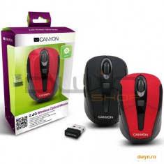 Black color, 3 buttons and 1 scroll wheel with 1000/1200/1600 switchable dpi plus 2 additional up/do - Mouse CANYON