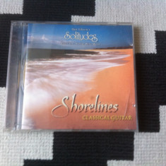 Dan gibson shorelines classical guitar cd disc muzica ambientala solitudes 1999